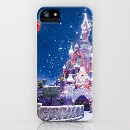 Winter fairy tale iPhone Case