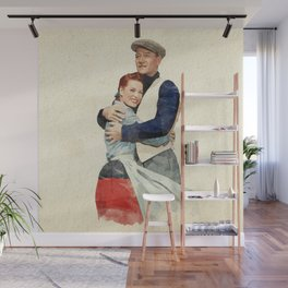 The Quiet Man - Watercolor Wall Mural