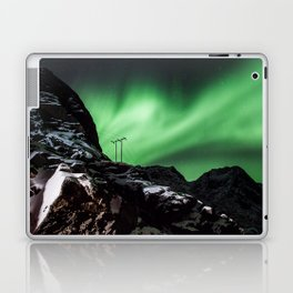 Aurora in Lofoten, Norway (II) Laptop & iPad Skin