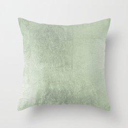 Modern elegant stylish blush green abstract pattern Throw Pillow