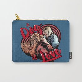 A Dog is Love Carry-All Pouch