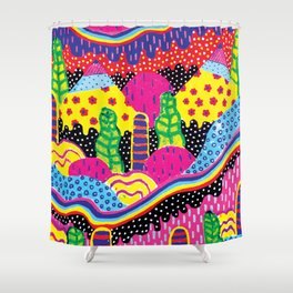 Pattern Island Shower Curtain
