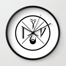 BARBERSHOP MINIMALIST PRO Wall Clock
