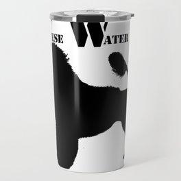 Portuguese Water Dog PWD Lion Cut Travel Mug