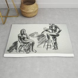 Nude Pair, Confrontation Rug