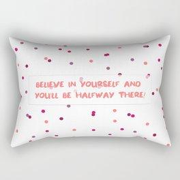 Thoughtful Dots Rectangular Pillow
