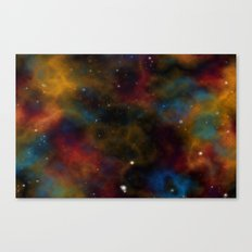 Final Frontier Abstract 2 Canvas Print