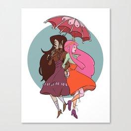 Marcy & PB Canvas Print