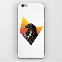Low Poly Raven iPhone Skin