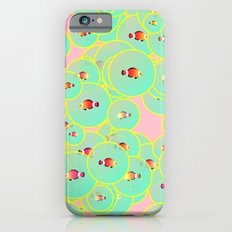 Fish and bubbles iPhone 6s Slim Case