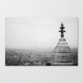 Paris from Montmarte Canvas Print