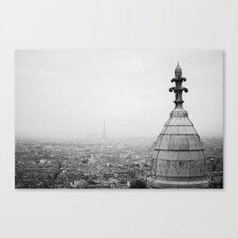 Paris from Montmarte Canvas Print