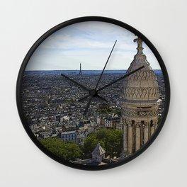 Comic Paris Wall Clock