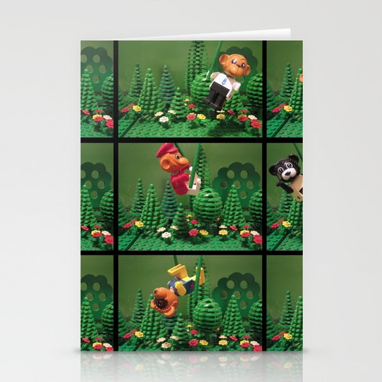 we love the jungle Stationery Cards