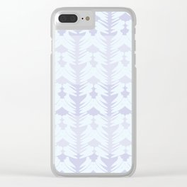Sweet Lavender Clear iPhone Case
