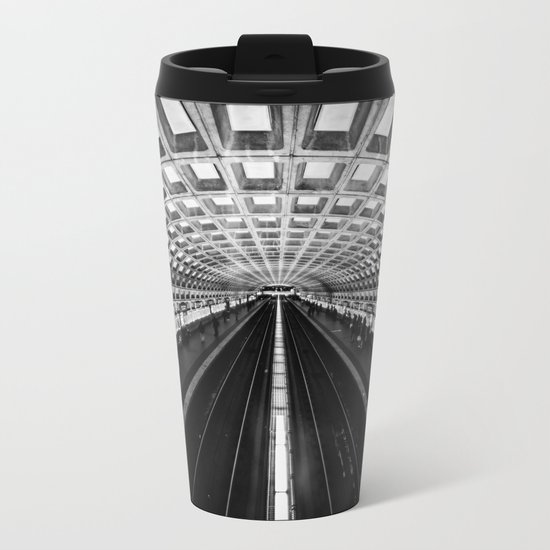 The Underground Metal Travel Mug