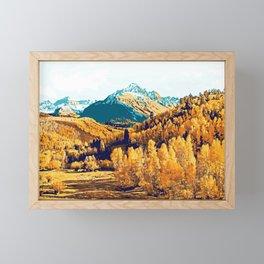 Theo #painting #digitalart #nature Framed Mini Art Print