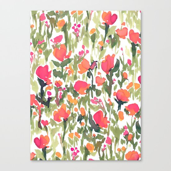 Heart's A Mess Canvas Print