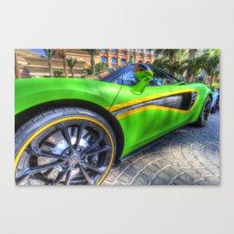 Dubai Super Car Canvas Print