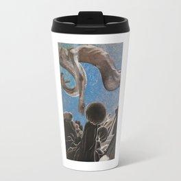 Floating Nude in Gray Travel Mug