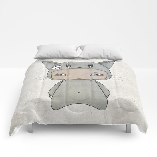 A Boy - Cat Comforters