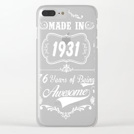 1931 Clear iPhone Case