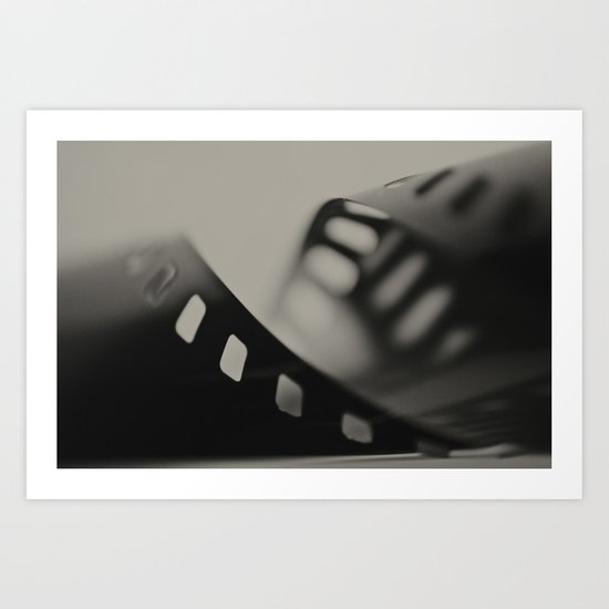 Film Background Art Print