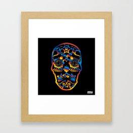 00  - COPERNICUS BLACK SKULL Framed Art Print