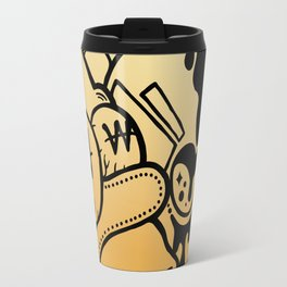14 Karat Gold. Travel Mug