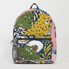 Cheetah hangout Backpack