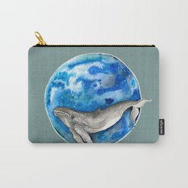 Blue World Whale Carry-All Pouch