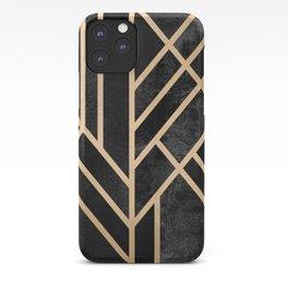 Art Deco Black iPhone Case