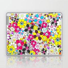 Social flowers Laptop & iPad Skin