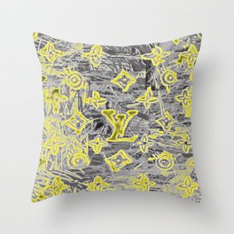 LV NEONIZED Throw Pillow