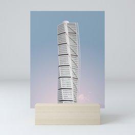 Turning Torso | Santiago Calatrava | #architecture #calatrava Mini Art Print