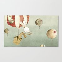 balloon Canvas Prints featuring Balloon by Judith Loske