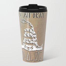 Gnalog (Analog Zine) Travel Mug