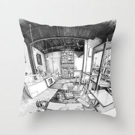 Spinelli's Bakery and Cafe, Denver Throw Pillow
