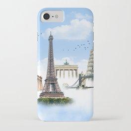 European Traveler iPhone Case