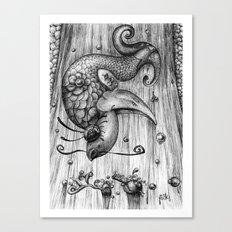 Fish Fall Canvas Print