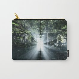 Radiating Light Carry-All Pouch