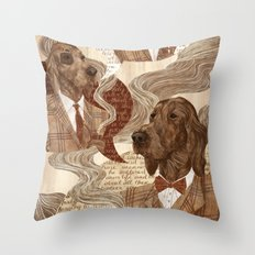 Repitition Throw Pillow