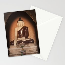Buddha in Bagan Stationery Cards