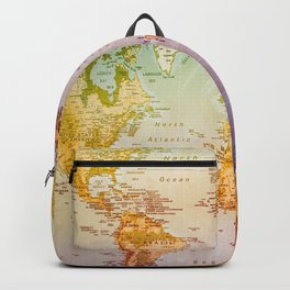 Colorful World Backpack