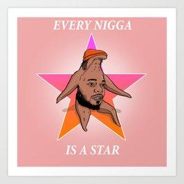 Every kendrick is a star Art Print
