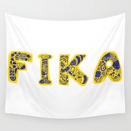 Fika- Folk style Wall Tapestry