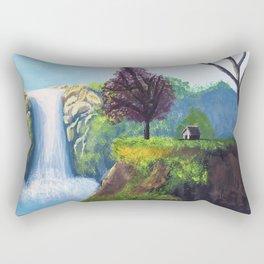 Cascades D'ouzoud Rectangular Pillow
