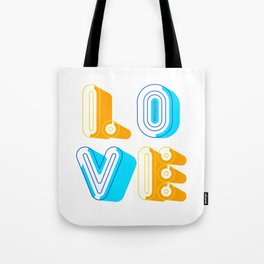 Love [illustration] Tote Bag