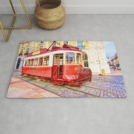Antique Streetcar Rug