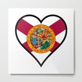 Love Florida Metal Print